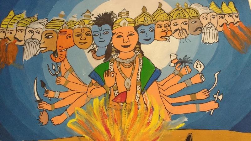 Indian Mythology, By Divya Dalal, Class 5C, AVMBE