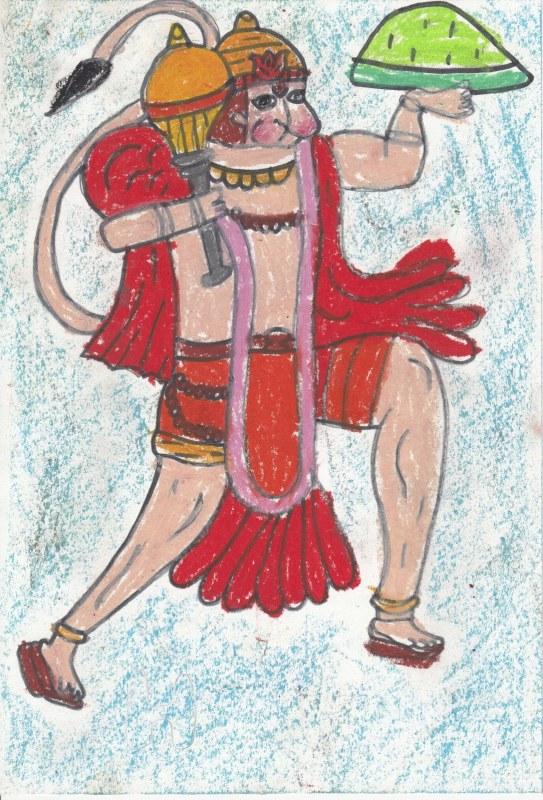 Lord Hanuman, Indian Mythology