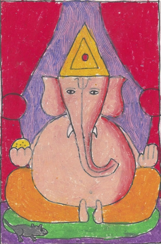 Lord Ganesha, Indian Mythology, By Ranveer Jain, Class 2B,  AVMBWSZ